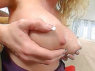 A Hot Scene With The Busty Blonde Mommy Houston