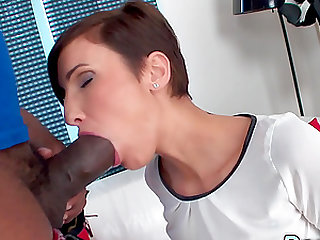Wife Gabrielle Gucci Bends Over for BBC